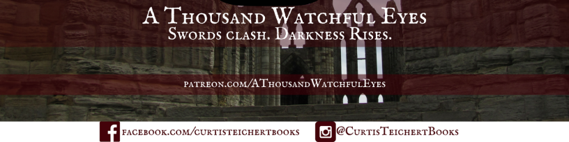 A Thousand Watchful Eyes - Staghorn Crown - Series Social Banner